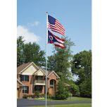 Flag Pole (13 ft. with 3 ft. x 5 ft. Flag)
