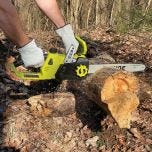 Rechargeable Lithium Cordless Chain Saw Kit