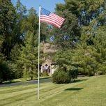 Flag Pole (17 ft. with 3 ft. x 5 ft. Flag)