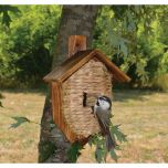 Roosting Pocket with Cedar Roof