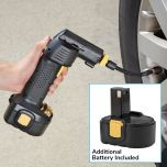 Rechargeable Airgun Cordless Air Compressor with Extra Battery