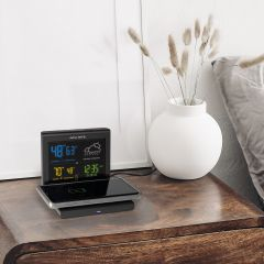 Weather Forecaster with Wireless Phone Charger