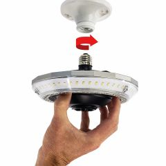 Motion-Sensing Entire Room LED Light