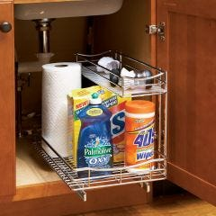 "Roll-Out Cabinet Undersink Drawer (11 1/4w x 18""d x 14""h)"""