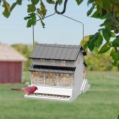 Squirrel-Proof Farmhouse Bird Feeder