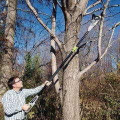 Convertible 2-in-1 Electric Pole Chain Saw