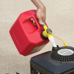 5 Gallon Gas Can with No-Spill Nozzle