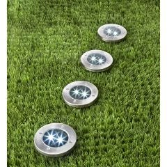 In-Ground Solar Path Lights (Set of 4)