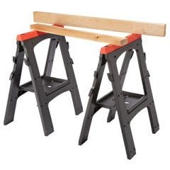 Folding Sawhorses (set of 2)