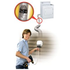 Dryer Safety Cleaning System