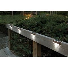Solar LED Deck Lights (Set of 6)