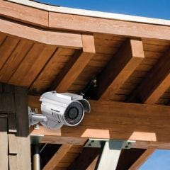 Solar Imitation Security Camera