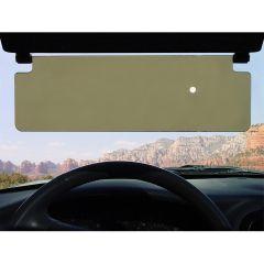 The Clear View Sun Visor