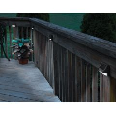 Solar Deck Post Lights (Set of 4)