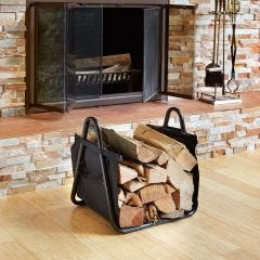 Log Tote with Stand