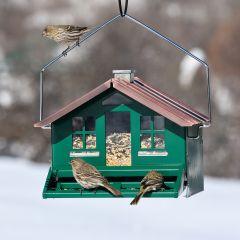 Home Style Squirrel-Proof Bird Feeder
