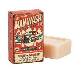 """""""Man Wash"""" Soap Bar"""