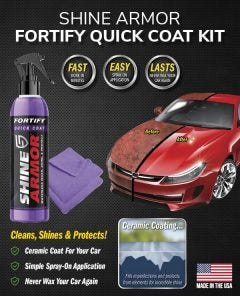 Shine Armor Fortify Quick Coat Kit