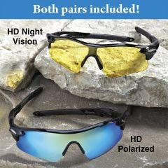 Tactical HD Protective Eyewear (2 Pair)