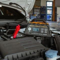 12V 15-amp Smart Battery Charger/Maintainer
