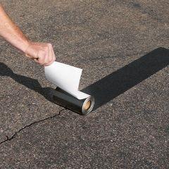 Peel and Stick Asphalt Driveway Repair System