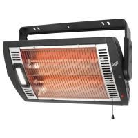 Shop Heater with Halogen Light