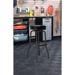 Swivel-Seat Shop Stool