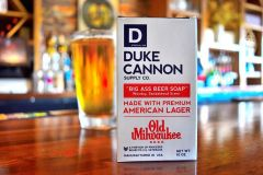 Duke Cannon Old Milwaukee Beer Big Brick of Soap