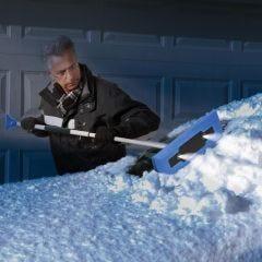 LED Lighted Snow Plow/ Ice Scraper
