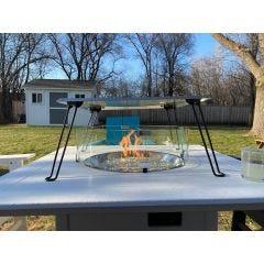 Fire Pit Heat Deflector