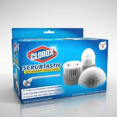 Replacement Brushes for Clorox® Scrubtastic Max (Set of 3)
