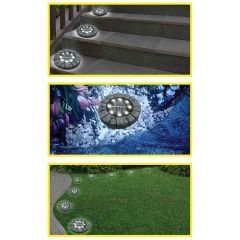 Ultra In-Ground Solar Path Lights  (Set of 4)