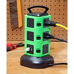 10-Outlet Power Tower